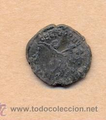 Monedas Roma República: MONEDA 370 - MONEDA ROMANA - ROMAN COIN MEASURES 15 MM WEIGHT 1 GRMS MEDIDAS SOBRE 15 MM PESO SOB - Foto 3 - 35623782