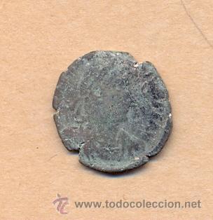 MONEDA 374 - MONEDA ROMANA - ROMAN COIN MEASURES 22 MM WEIGHT 5 GRMS MEDIDAS SOBRE 22 MM PESO SOB (Numismática - Periodo Antiguo - Roma República)