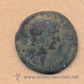 MONEDA 382 - MONEDA ROMANA - ROMAN COIN MEASURES 26 MM WEIGHT 8 GRMS MEDIDAS SOBRE 26 MM PESO SOB (Numismática - Periodo Antiguo - Roma República)