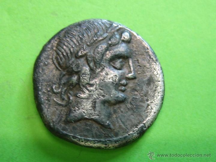 ROMAN COIN. DENARIO REPUBLICANO FAMILIA GENS MARCIA (Numismática - Periodo Antiguo - Roma República)
