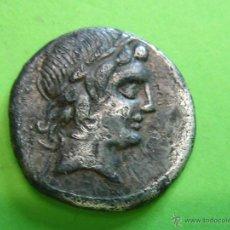 Monedas Roma República: ROMAN COIN. DENARIO REPUBLICANO FAMILIA GENS MARCIA. Lote 40707296