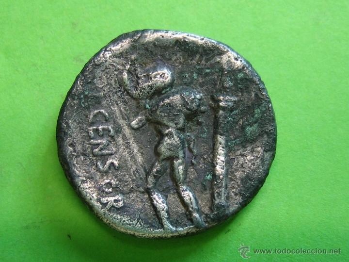 Monedas Roma República: Roman Coin. Denario Republicano Familia Gens Marcia - Foto 2 - 40707296