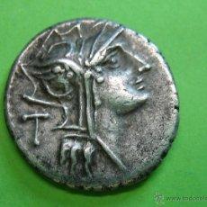 Monedas Roma República: ROMAN COIN. DENARIO REPUBLICA. Lote 40713336