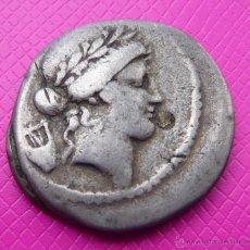 Monedas Roma República: BONITO DENARIO REPUBLICANO FAMILIA CLAUDIA. PLATA. CIRCA 42-41 A.C. VER DESCRIPCIÓN Y FOTO ADICIONAL. Lote 41134447