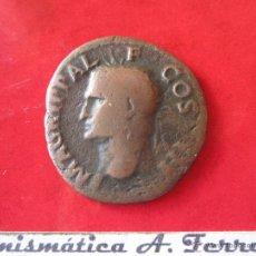 Monedas Roma República: AS DEL IMPERIO ROMANO. AGRIPA. #MN. Lote 32811029