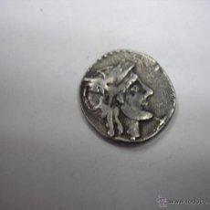 Monedas Roma República: DENARIO DE PLATA REPUBLICA, EN LA CRUZ PECES. MBC. OP-3. PESA 3,1 GRAMOS. Lote 50596892