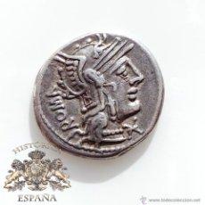 Monedas Roma República: DENARIO REPUBLICANO, FAMILIA CAECILIA - 126 A.C - E.B.C++. Lote 52879300