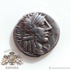 Monedas Roma República: DENARIO REPUBLICANO, FAMILIA FANNIA - VICTORIA EN CUADRIGA A LA DERECHA - 137 A.C - E.B.C. Lote 52881123