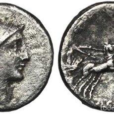 Monedas Roma República: *** BONITO DENARIO REPUBLICANO 109-110 AC. FAMILIA CLAUDIA (ROMA) ***. Lote 57307034