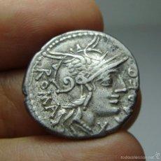 Monedas Roma República: DENARIO REPUBLICANO. PLATA. FABIA.. Lote 58154209