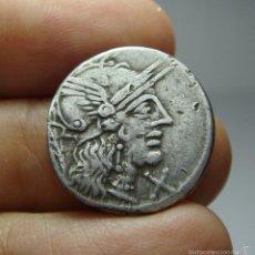 Monedas Roma República: DENARIO REPUBLICANO. PLATA. PAPIRIA.. Lote 58154408