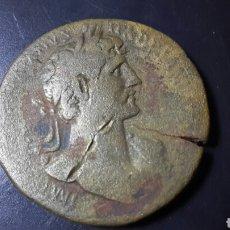 Monedas Roma República: MONEDA ROMANA SEXTERCIO DE ADRIANO. Lote 101702486