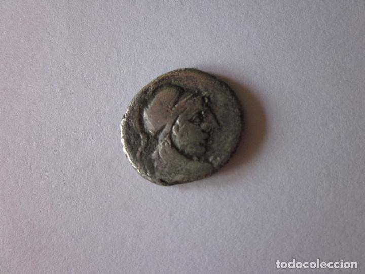DENARIO. GENS CORNELIA. PLATA. (Numismática - Periodo Antiguo - Roma República)