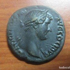 Monedas Roma República: BONITA MONEDA ROMANA ES UN DUPONDIO, Y EL EMPERADOR ADRIANO, EN EXCELENTE ESTADO. Lote 112421895
