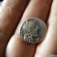 Monedas Roma República: REPUBLICA ROMANA. DENARIO 123 AC FANNIA. MARCIUS FANNIUS 3,91GR MBC. Lote 113917572