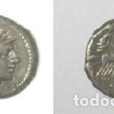 Monedas Roma República: DENARIO REPUBLICA ROMANA FAMILIA SPURILLA. Lote 115698439