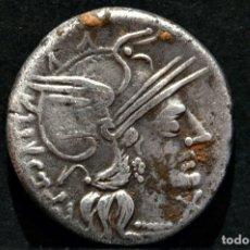 Monedas Roma República: DENARIO REPUBLICA ANONIMO DIOSCUROS Y PERRO ROMA 200-195 AC. Lote 115262587