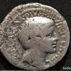 Monedas Roma República: DENARIO OCTAVIO AGUSTO 37 A.C COS ITER ET TER DESIG. Lote 83573232