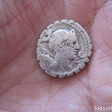 Monedas Roma República: ESCASO DENARIO REPUBLICANO, CLUADIA GENS, SIGLO I A.C . SERRADO, CUADRIGA. Lote 120937163