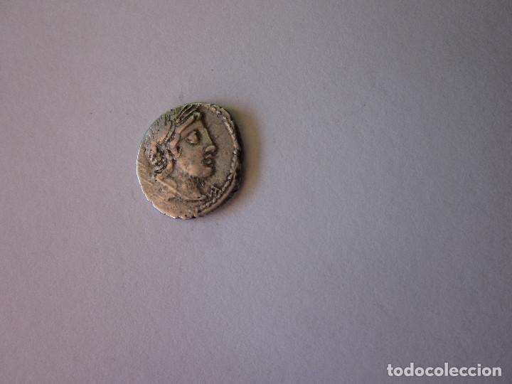 DENARIO REPUBLICANO. GENS VIBIA. PLATA. (Numismática - Periodo Antiguo - Roma República)