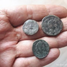 Monedas Roma República: LOTE 3 MONEDA ROMANA.....SALIDA 9,99 EUROS.. Lote 130177191