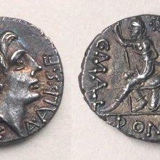 Monedas Roma República: DENARIO ROMANO REPÚBLICA C MALLEOLUS A ALBINUS L METELLUS 96 AC. Lote 130778768