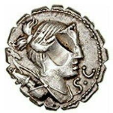 Monedas Roma República: DENARIO REPUBLICANO FAMILIA CLAUDIA 79 AC 3,82 GR DIANA VICTORIA EBC CON CERTIFICADO AUTENTICIDAD. Lote 138380626