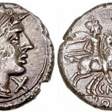 Monedas Roma República: REPÚBLICA ROMANA. DENARIO FAMILIA LUCRETIA. PLATA. Lote 139823930