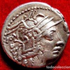 Monedas Roma República: BONITO DENARIO REPÚBLICANO EN PLATA DE M.CALIDIUS,Q.METELLUS---ROMA 117-116 A.C.-EXCELENTE. Lote 140294118