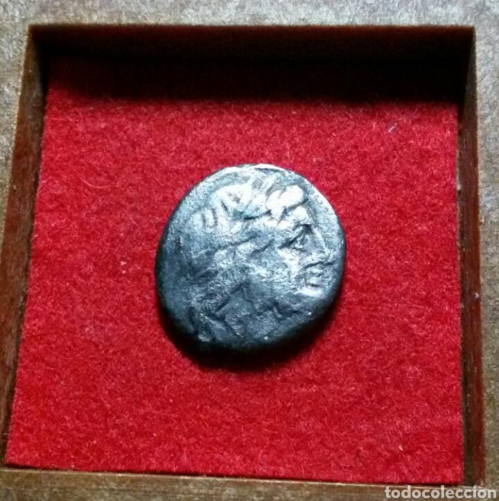 VICTORIATO. 205-150 A.C. ANÓNIMO. ANV.: CABEZA DE JÚPITER LAUREADA A DERECHA. PLATA (Numismática - Periodo Antiguo - Roma República)