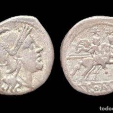 Monedas Roma República: QUINARIO REPUBLICANO - ANÓNIMO (211-208 AC) - 15 MM / 1,96 GR.. Lote 143230562