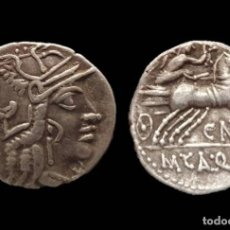 Monedas Roma República: DENARIO REPUBLICANO - FAMILIA FULVIA (117 AC) - 17 MM / 3,88 GR.. Lote 143230602