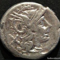 Monedas Roma República: DENARIO REPUBLICA ANÓNIMO ROMA 211-209 A.C. REVERSO ESTRELLAS. Lote 83567076