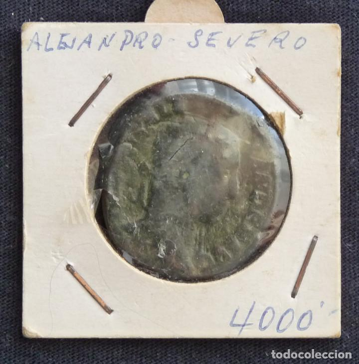 MONEDA DE ALEJANDRO SEVERO. (Numismática - Periodo Antiguo - Roma República)