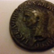 Monedas Roma República: LOTE DE DOS REPLICAS DE MONEDAS ROMANAS EN BRONCE. Lote 152222374
