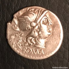 Monedas Roma República: DENARIO REPÚBLICA ROMANA . SERVILIA (AUTÉNTICO)EBC. Lote 155858073