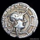 Monedas Roma República: REPÚBLICA ROMANA - DENARIO M. ACILIUS ROMA 130 B.C. M. ACILIVS. M.F.. Lote 160773580