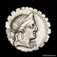 Monedas Roma República - República Romana-C. Naevius Balbus, denario. Roma 79 B.C. Victoria. - 163852033
