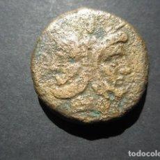 Monedas Roma República: MONEDA DE 1 AS REPUBLICANO SIGLO II A.C. MODULO GRANDE, EXTRAORDINARIA. Lote 165305250