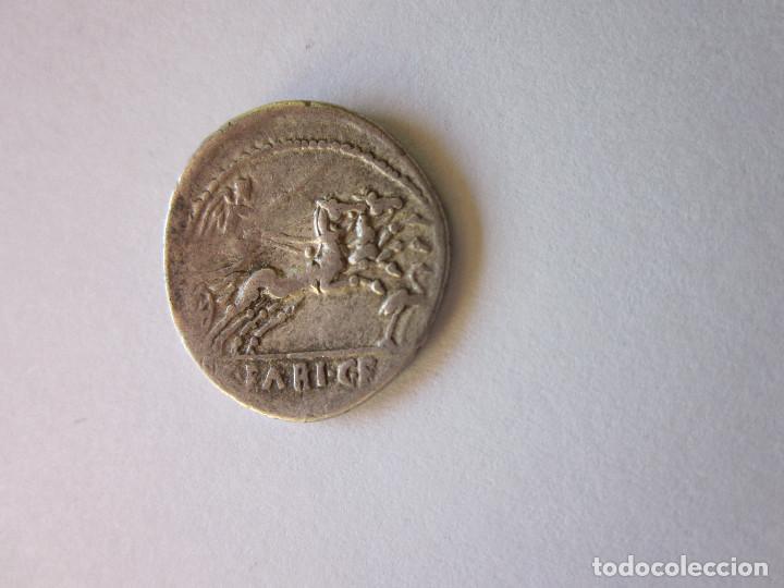 Monedas Roma República: Denario republicano. Gens Fabia. Plata. - Foto 2 - 166071866