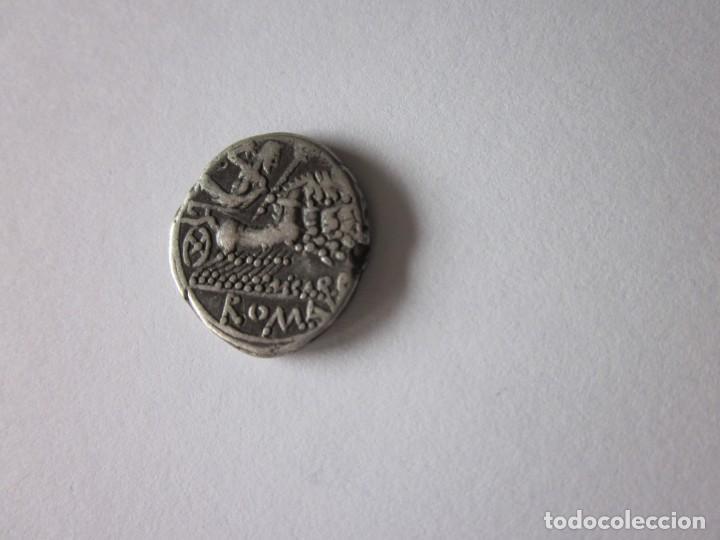Monedas Roma República: Denario republicano. Gens Papiria.. Plata. - Foto 2 - 167846596