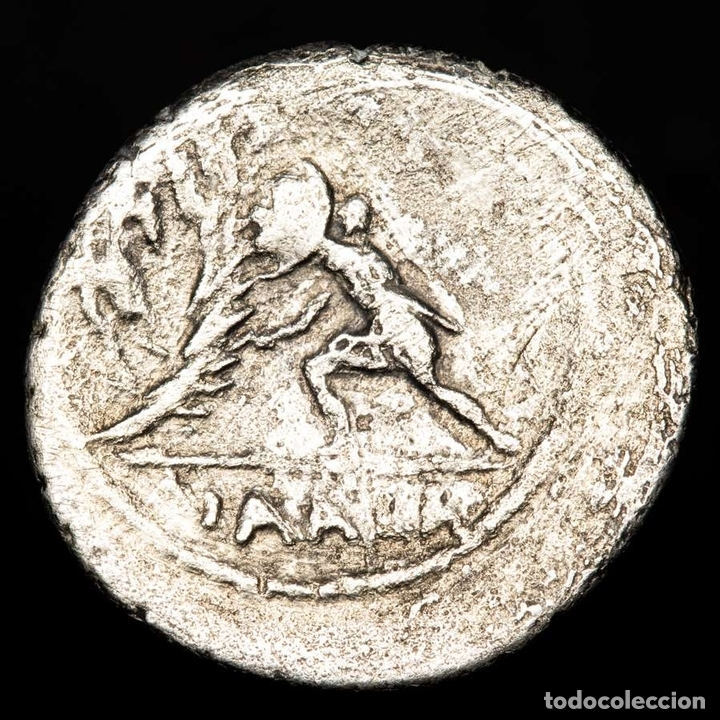 Monedas Roma República: Republica Romana, C. Numonius Vaala, denario, Roma C•NVMONIVS VAALA - Foto 2 - 167964417