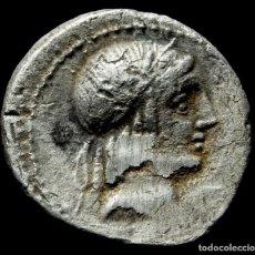 Monedas Roma República: DENARIO REPUBLICANO - FAMILIA CALPURNIA (90 AC) - 18 MM / 3,54 GR.. Lote 170160548