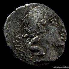 Monedas Roma República: DENARIO REPUBLICANO, FAMILIA VIBIA (90 AC) 17 MM / 3,47 GR.. Lote 154057370
