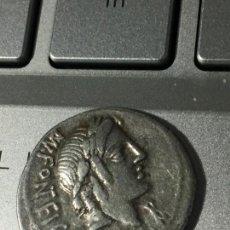 Monedas Roma República: PRECIOSO DENARIO FONTEIA. Lote 171060083