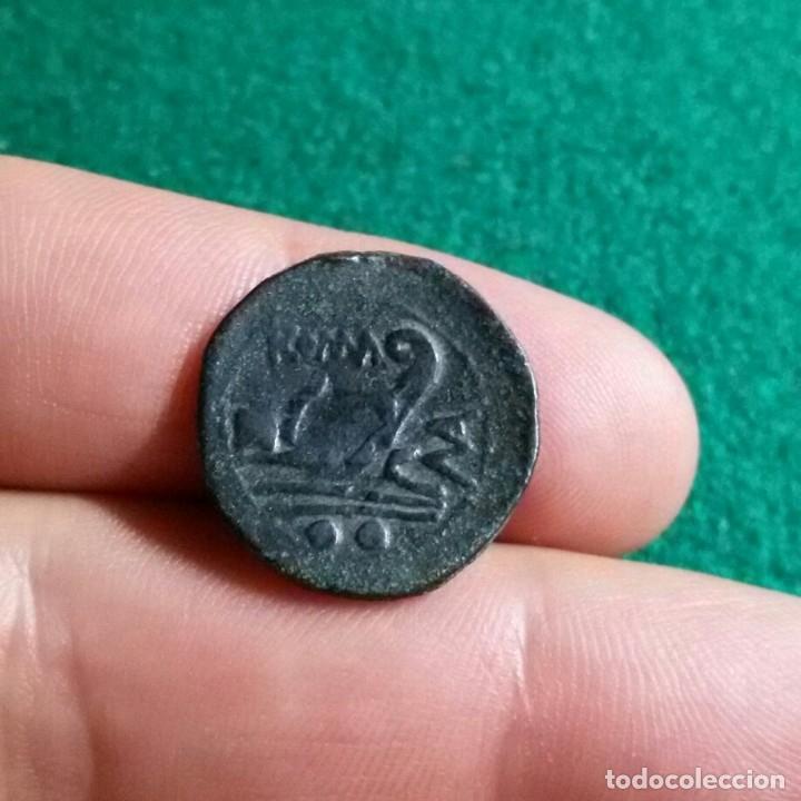 Monedas Roma República: República romana - Sextans de bronce anónimo Serie MA, Roma 210 AC P. Manlius Vulso - Foto 4 - 173068567