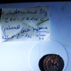 Monedas Roma República: ANTONIANO DE GALIENO CECA ROMA 260 D.CHR. Lote 174532814