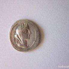 Monedas Roma República: DENARIO REPUBLICANO. GENS FABIA. PLATA.. Lote 175725508