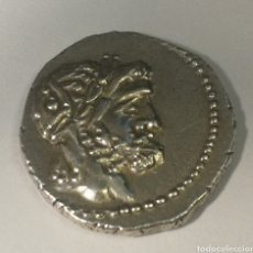 Monedas Roma República: DENARIO DE PLATA. FAMILIA VOLTEIA. 78.AC. 3,9G. RARA. Lote 176301382
