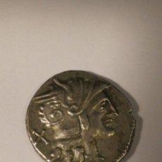 Monedas Roma República: DENARIO DE PLATA. REPUBLICANO 200.. 190. AC. ANONIMO RARO. Lote 176301532